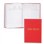 Logbook - red