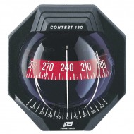 Plastimo Contest 130 - 10 to 25 Degree Bulkhead Compass (17292)