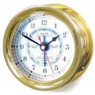 Brass Capstan Tide Clock