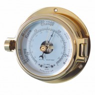 Brass Latch Barometer