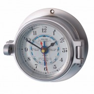 Matt Chrome Latch Tide Clock