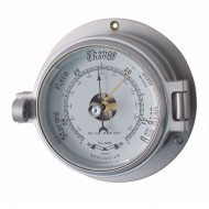 Matt Chrome Latch Barometer