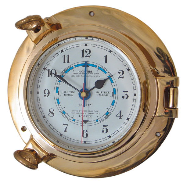 Porthole Tide Clock (Medium)