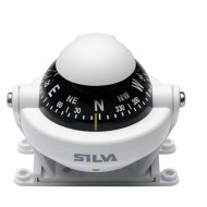 Silva 58 Star - Bracket Mount Compass - White