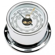 Chrome Aneroid Barometer (50mm Dial)