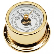 Gold Plated Aneroid Barometer (50mm Dial)