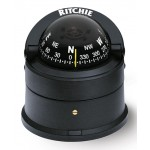 Ritchie Navigation D55 - Explorer Compass Deck Mount Power Black