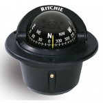 Ritchie Navigation F50 - Explorer Compass Flush Mount Power Black