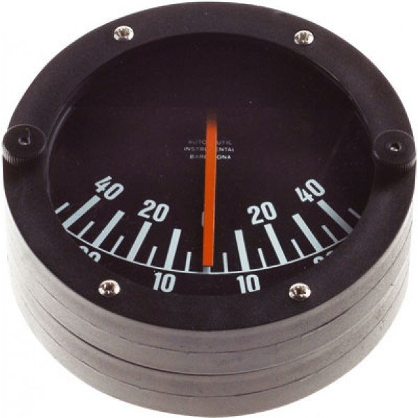 Bulkhead clinometer