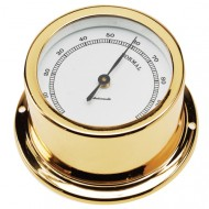 Gold Plated Hygrometer (50mm Dial)