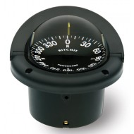 Ritchie Navigation HF742 - Helmsman Compass Flush Mount Power Black