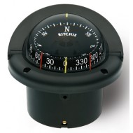 Ritchie Navigation HF743 - Helmsman Compass Flush Mount Power Black