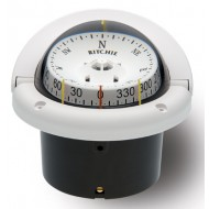 Ritchie Navigation HF743W - Helmsman Compass Flush Mount Power Black