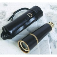 Leather bound Naval Officer's Telescope