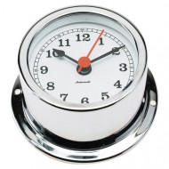 Chrome Quartz Clock (50mm Dial)