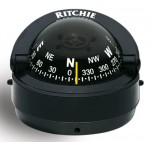 Ritchie Navigation S53 - Explorer Compass Surface Mount Power Black
