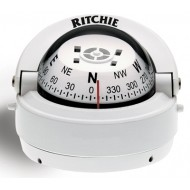 Ritchie Navigation S53W - Explorer Compass Surface Mount Power White