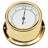 Gold Plated Thermometer (50mm Dial)
