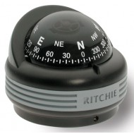 Ritchie Navigation TR33 - Trek Compass Surface Mount Power Black