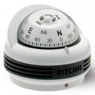 Ritchie Navigation TR33W - Trek Compass Surface Mount Power White
