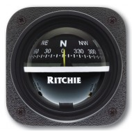 Ritchie Navigation V537 - Explorer Compass Bulkhead Mount Power Black