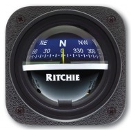 Ritchie Navigation V537B - Explorer Compass Bulkhead Mount Power Blue