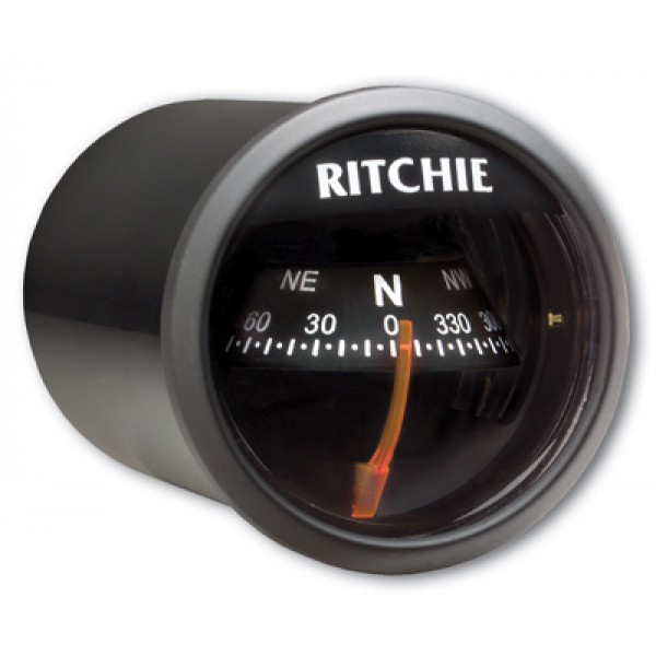 Ritchie Navigation X21BB - Sport Compass Dash Mount Power Black